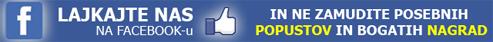 Lajkajte Facebook stran Reverzna osmoza