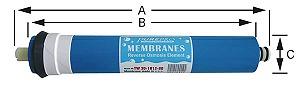 Filmtech RO polprepustna membrana TCF 200 GPD 0,0001 mcr, TW 30-1812-200