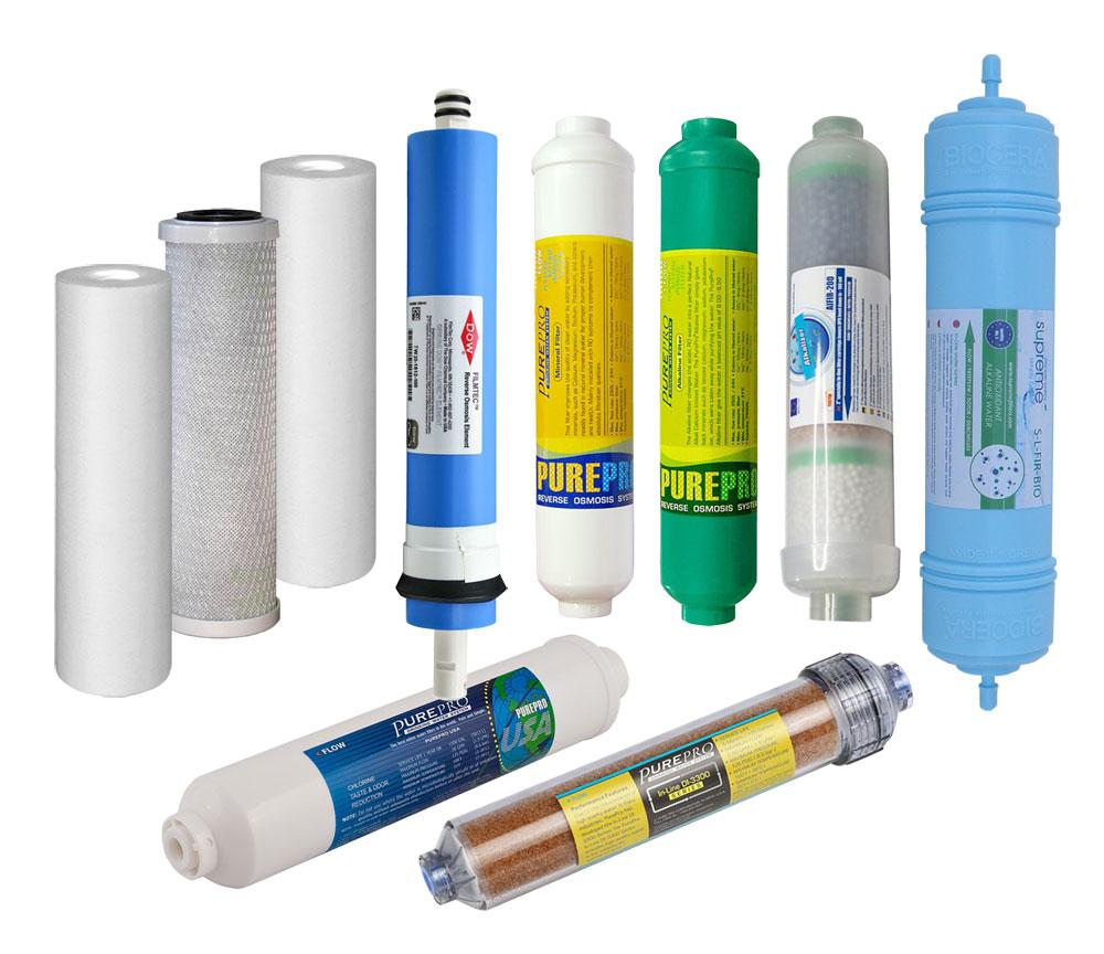 Nadomestni filtri in RO membrane za reverzno osmozo
