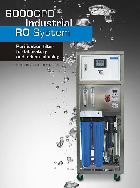 Reverzna osmoza PurePro RO-6000 kapacitete 22.680 L/dan