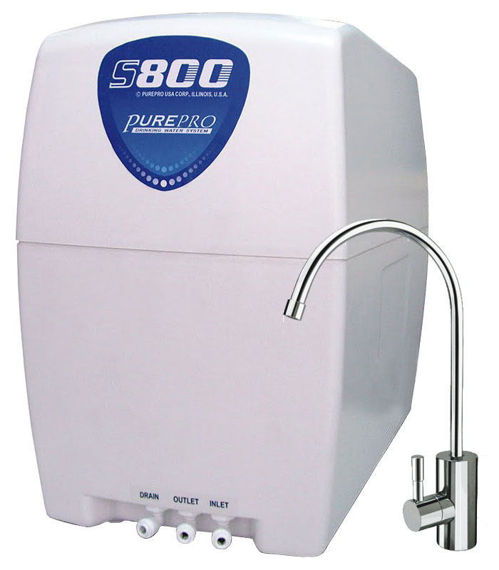 Reverzna osmoza - Naprava za filtriranje vode PurePro S800 Alkaline