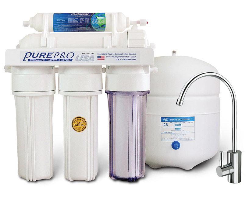 Reverzna osmoza - Naprava za filtriranje vode PurePro EC105 Lux