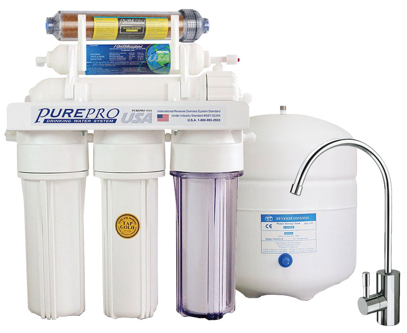 Reverzna osmoza - Naprava za filtriranje vode PurePro EC 106 DI